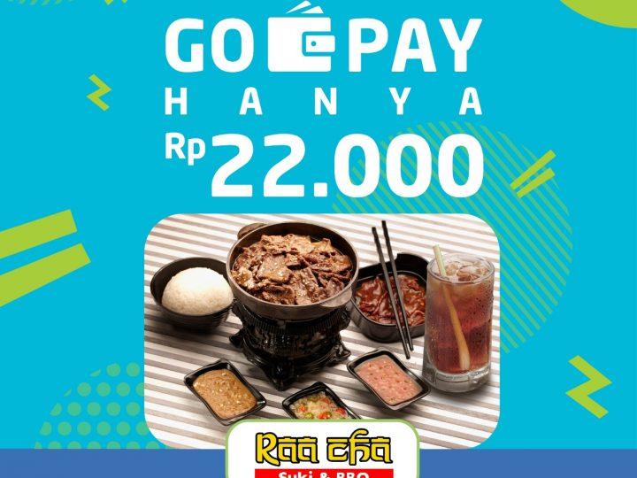 Promo Gopay Rp 22.000