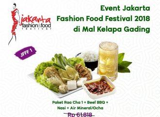Jakarta Fashion & Food Festival 2018