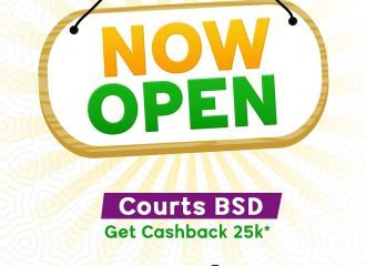 Grand Opening Promo RAA CHA Courts BSD