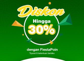Diskon dengan Fiesta Point Mandiri