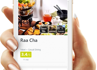 Promo – Cashback Voucher Rp 25.000 & Free Raa Cha Ice Cream