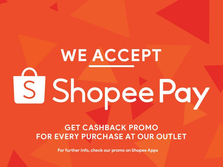 WE ACCEPT SHOPEE PAY